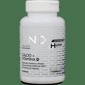 Cálcio E Vitamina D 60 Cápsulas HND