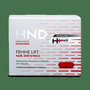 Suplemento para Cabelo, Pele e Unha Femme Lift Hair Skin & Nails HND