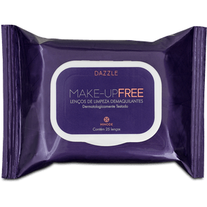 Lenço Demaquilante Makeup Free Dazzle