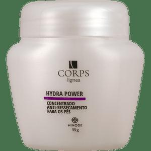 Concentrado Anti Ressecamento Para Pés Hidra Power Corps Lígnea 55g