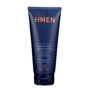 Shampoo Para Cabelo E Barba H-Men 200ml