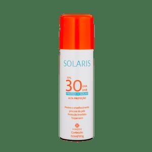 Protetor Solar Aerossol FPS 30 UVA e UVB Solaris 150ml
