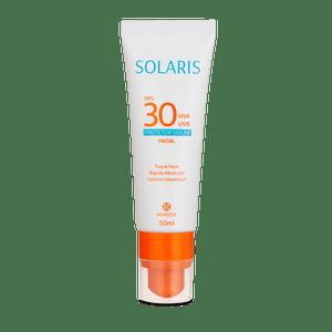 Protetor Solar Facial FPS 30 UVA E UVB Solaris 50ml
