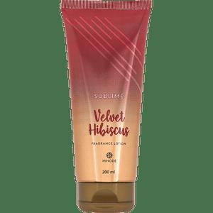 Hidratante Sublime Velvet Hibiscus 200ml