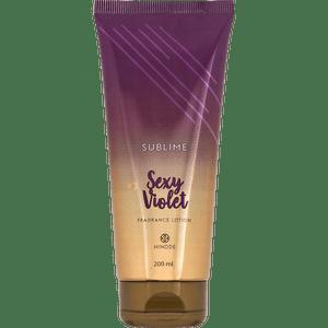 Hidratante Sublime Sexy Violet 200ml